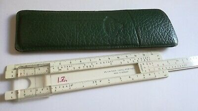 A.W. FABER CASTELL 67/87 RIETZ ruler straightedge two sided HERRSCHER GERMANY