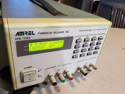 Amrel PPS-2322 Programmable DC Power Supply 2 channels