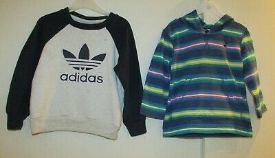 Boys Bundle Age 2-3 Years Jumper & Hoodie Adidas & George Used Condition