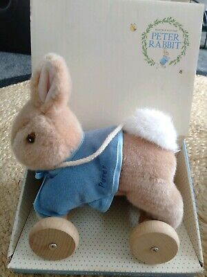 Pull Along Peter Rabbit - BRAND NEW IN BOX