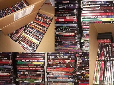HUUGE Movie DVD Collection - RARE OOP - Split into Lots - #1 - Horror and Cult