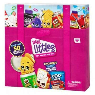 Shopkins Real Littles Collectors Case Season 12 Holds over 50 Real Little Minis