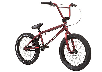 New Fit Bike Co Dark RED Original OG Flanged Grips BMX Fitbikeco Bicycle