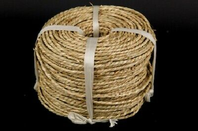 Shamrock NATURAL SEAGRASS CORD 4mm Coil approx. 500g Baskets/Pet/Birds/Craft
