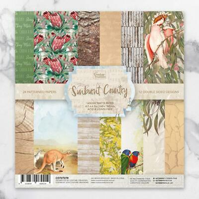 "Sunburnt Country Paper Pad 6.5"" x 6.5"" Couture Creations"