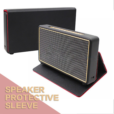 Leather Foldable Standable Protective Cover Bag For Marshall Stockwell Speaker