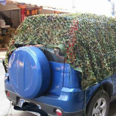 4mX2m Army Camouflage Net Camo Netting Camping Shooting Hunting Hide Woodland UK