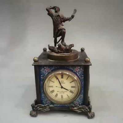 Chinese ancient collection vintage retro western clock 老物件