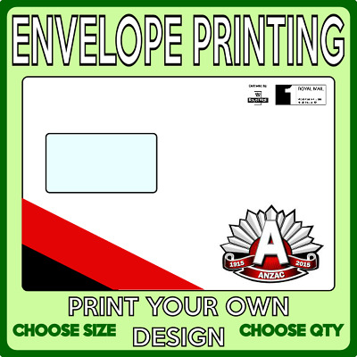 Envelopes - Printed with your Design