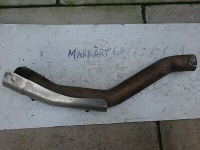 Ducati Multistrada 1000DS Exhaust Link Pipe and Heat Shield