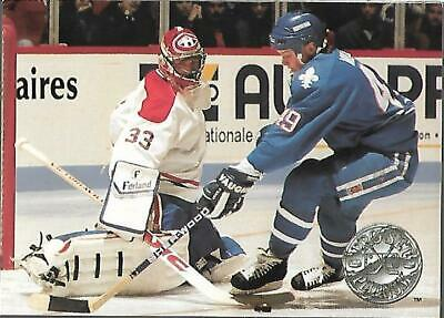 1990-91 Pro Set Platinum-#61--Patrick Roy-Goaltender-Canadiens