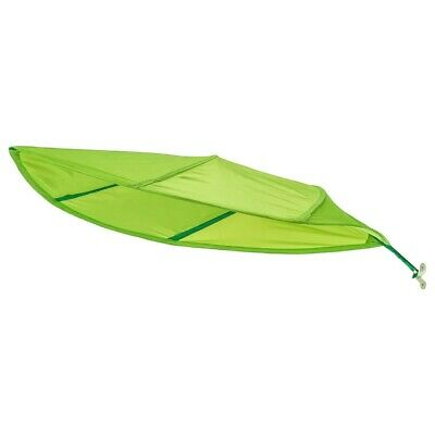 IKEA Lova Children's Over Bed Leaf Shaped Baby Cot Child's Bed Canopy Green NEW