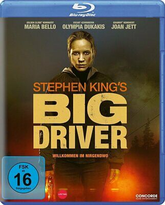 STEPHEN KING`S BIG DRIVER - Maria Bello, Olympia Dukakis NEW REGION FREE BLU-RAY
