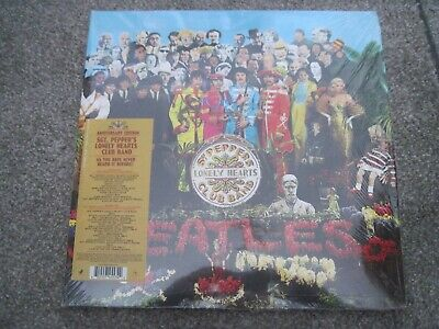 THE BEATLES Sgt Pepper ANNIVERSARY EDN 2017 2 x 180 gram  APPLE   new
