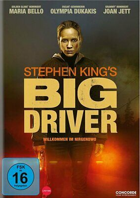 STEPHEN KING`S BIG DRIVER - Maria Bello, Olympia Dukakis NEW UK REGION 2 DVD PAL