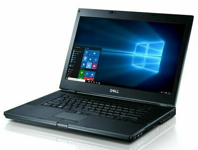 Refurbished Dell Latitude E6410 Laptop Intel Core i5 2.40GHz 4GB RAM 1TB HDD