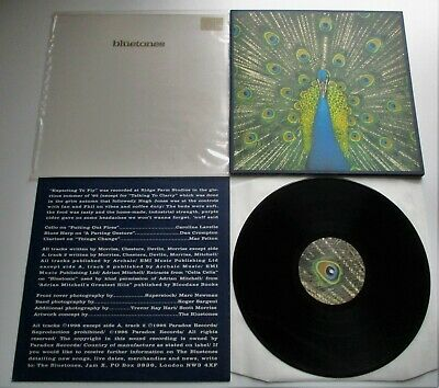 The Bluetones - Expecting To Fly UK 1996 LTD No.d 0080 LP Inner Booklet Plastic