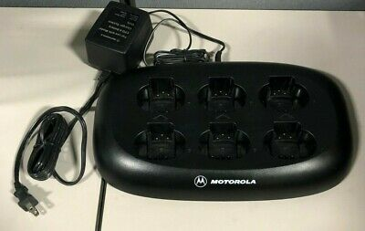 Motorola CPD-6 Charger NNTN4028B with Power Supply