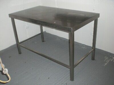 Commercial Kitchen Stainless Steel Large Work Prep Table Bench - Workshop Garage