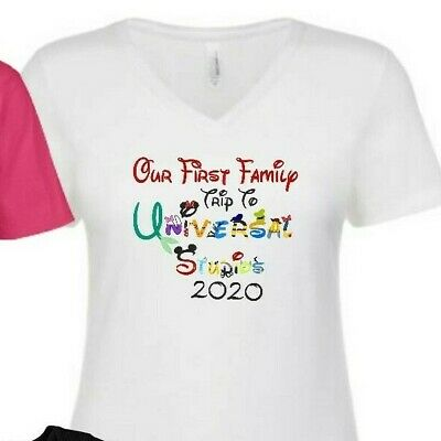Our First family trip TO Universal Studios 2020 Hollywood  T-SHIRTS ALL SIZES