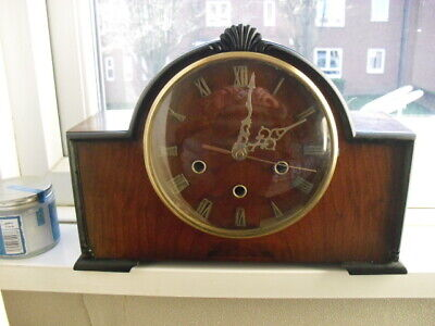 opt of  ONE of 7  1930s/40s   clocks converted to quartz battery REDUCED to £55