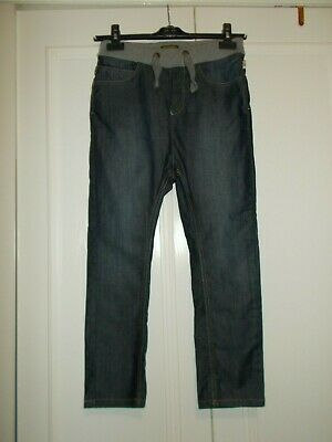 Boys Ted Baker blue skinny jeans elasticated waist age 10 years new