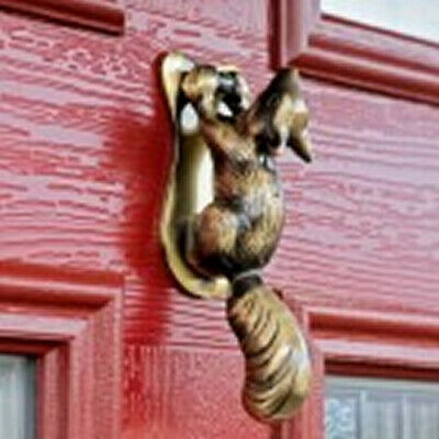 Squirrel Door Knockers
