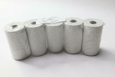 50 PACK - Plain White Thermal Paper 80 mm, 8000-000901-01