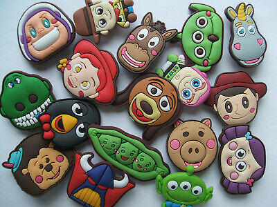 SHOE CHARMS (V2) - CARTOON CHARACTERS inspired by TOYS (17CTS) pack of 17
