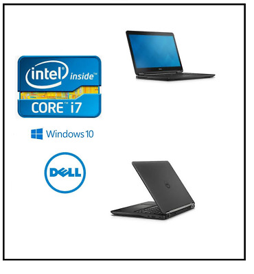 "Dell Latitude E7450 Core i7 5600U 8GB RAM 128 GB SSD WiFi 14"" Win 10 Pro"