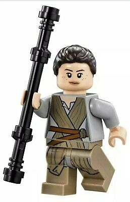 Authentic LEGO Star Wars Rey Minifigure sw677 75099 75105 75148 75178 Scavenger