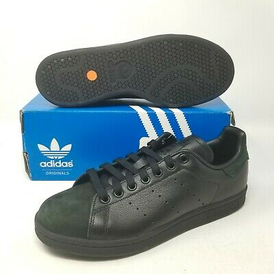Scarpe Shoes Adidas Stan Smith Camoscio Nero Maculate art. S77346 disp 38 al 41