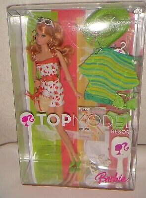 "Barbie Collector's own ""Top Model"" Resort Barbie.  BNIB and NRFB"