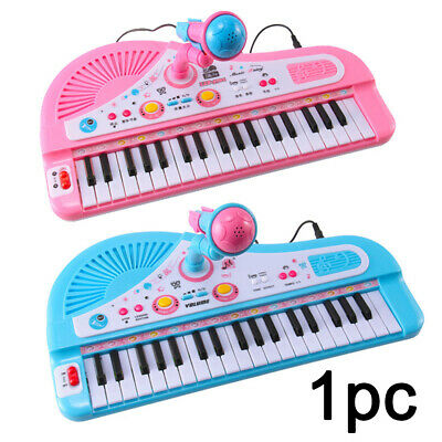 37 Keys Electronic Keyboard Piano Musical Toy with Mic for Children Kids Gift