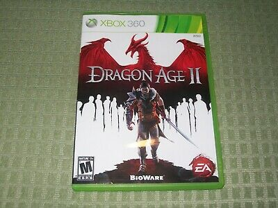 Dragon Age II (Microsoft Xbox 360) 2 CIB Complete Fantasy RPG Role Playing Game