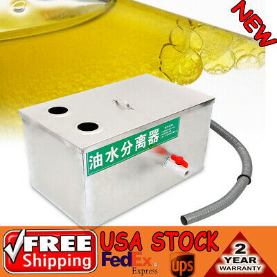 Grease Trap Interceptor Grease Trapping Machine User Manual 50x30x30cm Well-work