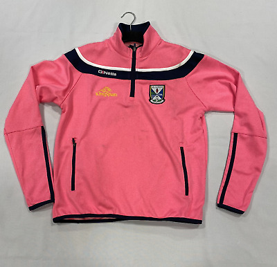 Oneills An Cabhan Breifne Pink Tracksuit Top Girls Size UK 3-4 Years *REF167