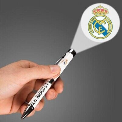 Football Club Official Executive Ballpoint Pen Blue Ink Badge Crest Gift Box