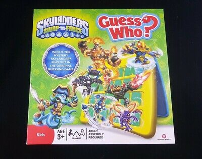 GUESS WHO ? GAME : SKYLANDERS SWAP FORCE EDITION - By HASBRO