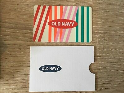 $250 Old Navy gift card with gift sleeve #H63+