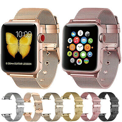 Milanese Band For Apple Watch Series 5 4 3 Stainless Steel Strap 38/42mm 40/44mm