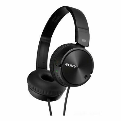 NEW Sony MDR-ZX110NC Wired HD Noise-Cancelling Folding Stereo Headphones