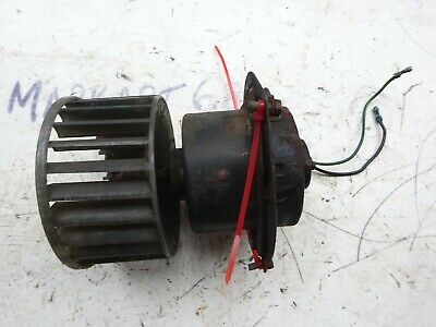Mg Midget 1500 Heater Fan and Mounting Screws Smiths