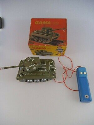 Gama 982 Panzer M98 RC in OVP 50er Jahre (3754)