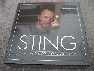 STING The Studio Collection  8 x 180 gram LPs (11 discs)  2016  A&M      sealed