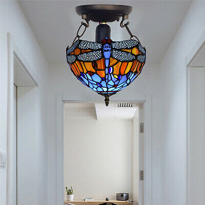 Antique Design TIFFANY Style Hand Crafted Home Decor Ceiling Lamp Lights Shade