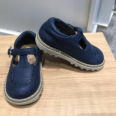 Girls Next Navy Shoes Infant Size 4