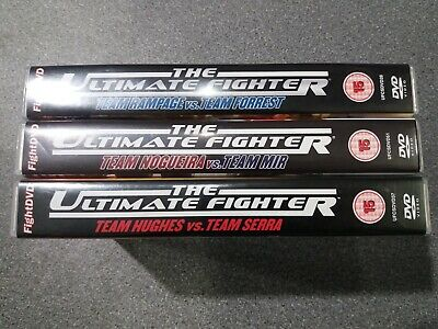 UFC The Ultimate Fighter Collection x3 DVD - Preowned - Fast Dispatch