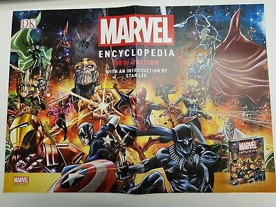 Marvel poster encyclopedia promo, fearless and fantastic
