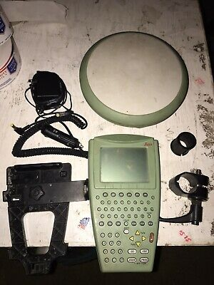 Leica GPS RX1210T, Antenna , case, and accessories